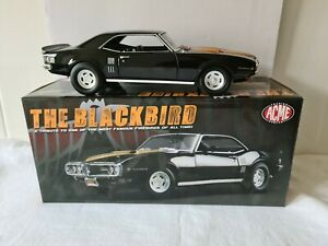 1:18 GMP Acme 1968 Pontiac Firebird The Blackbird Limited Edition