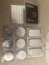 Silber Münze Barren Combibarren