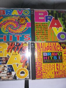 Bravo Hits  Vol.1,2,3,4     sehr    guter  Zustand      Sammlung