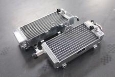 Fit Yamaha YZ250 1990-1991/WR250 1991 Full aluminum radiator Left + Right