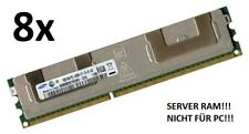 8x 16GB 128GB ECC REG RAM DDR3 1066 MHz Dell PowerEdge M910 R410 R415 R510 R515