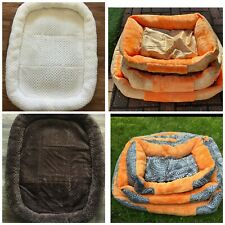 Pet Dog Cat Bed Puppy Kitten Cushion Soft Warm Mat Blanket Washable Mattrass