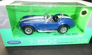 Shelby Cobra   - 1965 - ❌ 1:24 Welly   NEU OVP❌ # 3607
