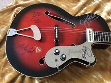 Framus Sorella 1960 RedS/Burst Signed by Elvis Presley,C Perkins,JL Lewis,J Cash