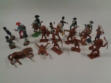 Vintage Plastic Crescent Figures Toys Made in England