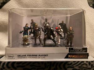 Star Wars The Mandalorian Deluxe  9 Figurine set