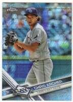 2017 Topps Chrome Baseball Prism Refractor #177 Chris Archer Rays