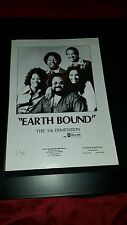 The 5th Dimension Earth Bound Rare Original Promo Poster Ad Framed!
