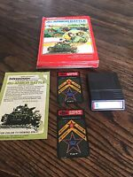 Armor Battle Intellivision Cib Game PC4