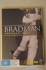 DON BRADMAN - Bradman - Centenary Collection - 3 disc DVD set - Sealed.
