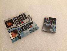 Star Wars Epic Duels Replacement Luke Leia Skywalker Complete Deck Card