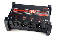 Superlux PS-2B Battery Powered Microphone Phantom Power Supply Unit