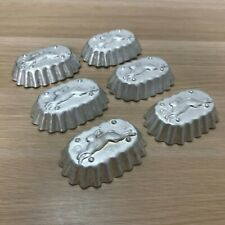 Vintage molds for baking cookies and cupcakes, USSR 60 years