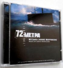 "ENNIO MORRICONE""72 Meters(72 Metra)Soundtrack NIKITIN RUSSIA Collector's CD SEAL"