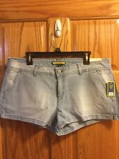 Womens AEROPOSTALE  Shorty Shorts. Size 14.  NWT. Blue/White