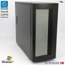Supermicro Work Station Server Computer PC X7SBE X7SB4/E SIM1U Slot Xeon L3110