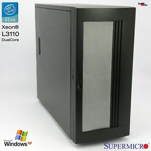Supermicro Work Station Server Computer PC X7SBE X7SB4/E & SIM1U Slot Xeon L3110