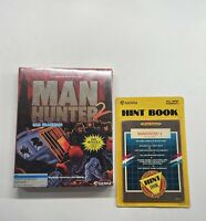 SIERRA Man Hunter 2 San Francisco Game & Hint Book IBM Tandy & MS-DOS SEALED!!