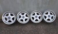 "OZ Futura 17"" 5x112 8.5/10J Mercedes SL R129 SEC SEL W126 Alloy Wheels AMG BBS"