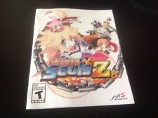 (NO GAME) Mugen Souls Z PS3 Instruction Book Manual