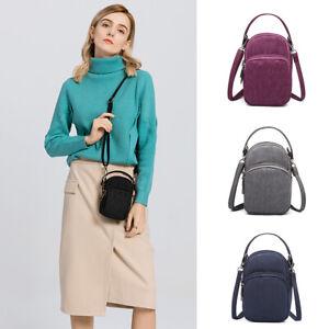 Cross-body Mobile Phone Shoulder Bag Pouch Case Handbag Purse Wallet UK Ladies