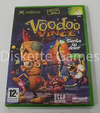 VOODOO VINCE - XBOX - PAL ESPAÑA - NUEVO PRECINTADO
