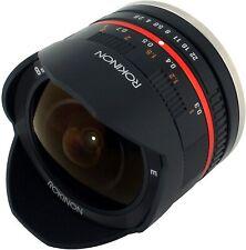 Rokinon 8mm F2.8 UMC Fisheye II (Black) Lens for Sony E-Mount (NEX) Cameras