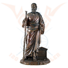 Socrates Greek philosopher cold cast bronze by Veronese .Great details.