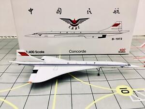 Aviation 400 1:400 CAAC Concorde B-1972