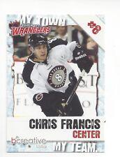 2011-12 Las Vegas Wranglers (ECHL) Chris Francis (Tulsa Oilers)