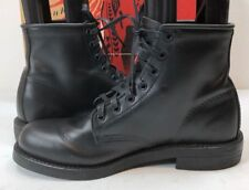 Chippewa Collection Men's 6 Inch Service Utility Boot Trooper Black Size 8.5 D