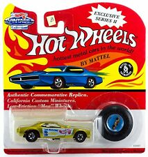 Hot Wheels Vintage Collection Series II The Snake Tom Prudhomme Yellow B E F