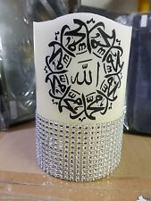 High Quality Home Made Arabic Calligraphy LED Candle for Home Décor & Gift-Small