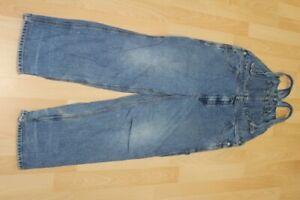 L3359 Tommy Hilfiger Latzhose Jeans L  blau  Gut