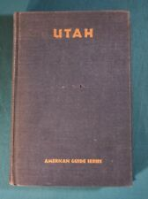 Utah American Guide Series WPA Hastings House 1941 First Edition No Jacket