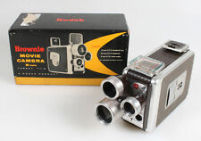 ART DECO 8MM MOVIE CAMERA IN ORIGINAL BOX AS IS FOR DISPLAY