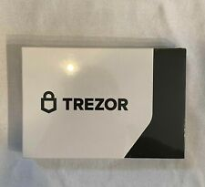 Trezor Model T - Cryptocurrency Hardware Wallet - Brand New