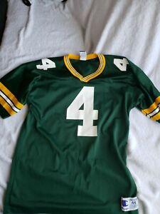 VTG Brett Farve Green Bay Packers Vintage Champion Jersey Men's Size 44  Size L