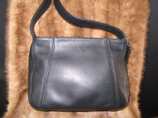 #VINTAGE MINT SUPPLE BLACK COACH NEW YORK HANDBAG clutch purse bag case