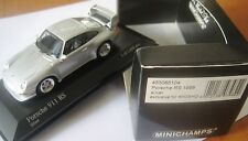 SUPER RARE MINICHAMPS KYOSHO PORSCHE 911 993 RS SILVER 1:43 1 OF 1008 OBSOLETE