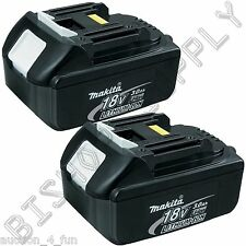 2pc Genuine Makita BL1830B 18V LXT Lithium-Ion Battery Pack 3.0Ah