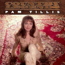 PAM TILLIS rca country legends SEALED 2002 CD with hype sticker NINE #1 HITS new