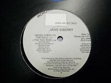 "Jane Siberry-Map of the World-12"" Single-Promo-VG+"