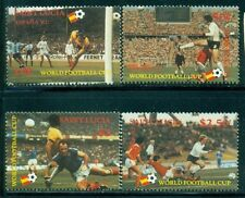 ST. LUCIA 578-81 SG611-14 MNH 1982 World Cup Soccer set of 4 Cat$7