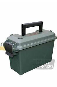 EMPTY AMMO BOX MTM CASE-GARD  AC30T STORAGE BOX TOOL BOX FIELD BOX GRN OR BLACK