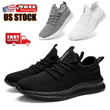 Men's Casual Sneakers Athletic Outdoor Running Shoes Sports Walking Tennis Gym