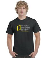 National Sarcasm Society T-Shirt Tee Top Funny Unisex
