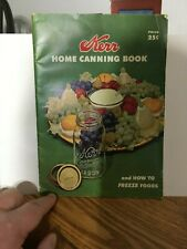 Vintage Kerr Home Canning Book And How To freeze Foods 1955