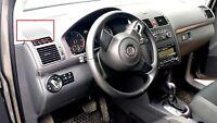 Neuf Original Volkswagen Touran avant Gauche Haut-Parleur Bord Noir 1T08572099B9