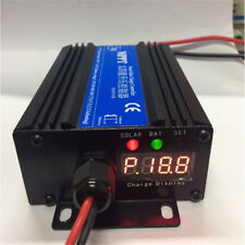 24V-72V MPPT Boost Solar Panel Battery Regulator Charge Controller Monitor